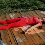 Shavasana for back pain between shoulder blades relief