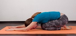 Simple yoga pose for lower back pain 2