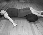 shavasana with a bolster