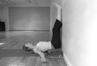 restorative yoga poses with a bolster  yoga yukta