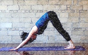 Downward Dog Pose - yoga to lose weight and tone body
