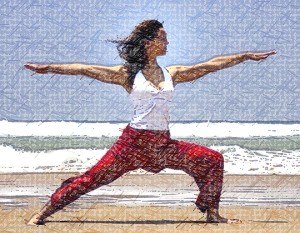 Virabhadrasana-II - yoga for weight loss beginners